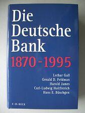 Die Deutsche Bank 1870-1995 Anfänge Industriefinanzierung Auslandsgeschäft ...