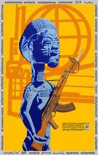 Solidarity POSTER quality print.Africa Zimbabwe.Political art.Home Decor.q816