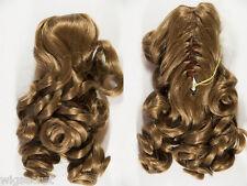 12 in Short Wavy Blonde Brunette Red Grey Claw Clips