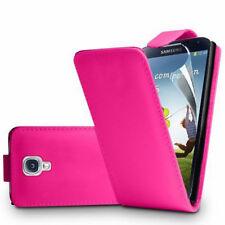 finta pelle custodia protettiva cellulare con patta per Samsung Galaxy S4 i9500
