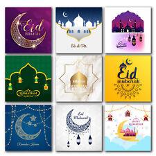 Square 40mm Eid Mubarak, Ramadan Kareem Islam Muslim, Hajj,Stickers/labels