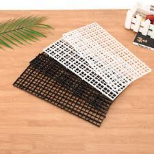 2 pcs grid divider tray egg crate louvre aquarium fish tank bottom isolate JR