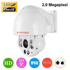 Vandal Proof 480TVL Dome Camera Pan / Tilt / Zoom IP Outdoor Security Monitor US