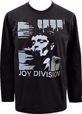 Da Uomo Maglia a maniche lunghe Joy Division testi Ian Curtis post punk rock di controllo S-2XL