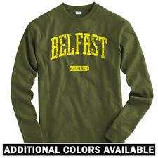 Belfast Northern Ireland Long Sleeve T-shirt LS - Norn Iron Football Men / Youth