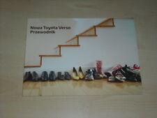 36609) Toyota Verso Polen Prospekt 2009