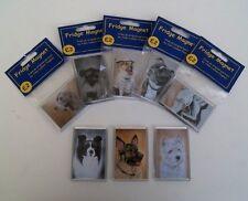 DOG Frigo Calamita Da UK artista * oltre 200 razze e le immagini da scegliere *