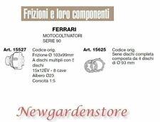 Frizione serie dischi compatibile FERRARI motocoltivatore serie 90 15527 15625