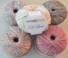 Mango Moon Di Lusso YARN - Silk / Viscose Blend - Great for Knitting or Crochet