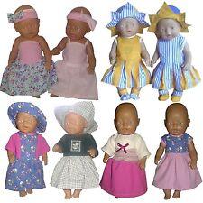 Kleid Baby Puppen Schnittmuster 43cm