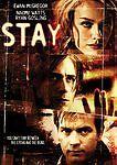 Stay DVD 2006 Rental Ready Dual Side New