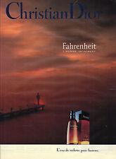 PUBLICITE  ADVERTISING  1991   DIOR  senteurs que les hommes aiment cosmétiques