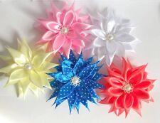 Toddler/girls handmade hair bow/ hair alligator clip * Handmade craft