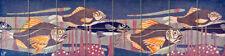Ceramic Undersea Mural Border Backsplash Art Nouveau Tile #517