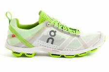 On Running Cloudracer Herren Laufschuhe Herrenschuh Freizeit Sneaker Silber Grün