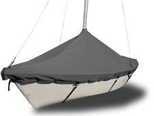 Holder 14 Sailboat - Boat Mast Up Peaked Cover - Gray Top Gun