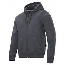 Snickers Workwear 2801 Classic Zip Hoodies Mens Hoodies SnickersDirect SteelGrey