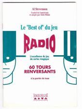 Magie Livre Le Best of du Jeu Radio + 1 tour