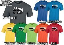 Vauxhall Astra MK3 Estate Hombre Camiseta