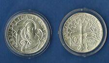 ITALIA 2004 10 EURO AG. GENOVA CAPITALE CULTURA FIOR DI CONIO + CONFEZIONE ZECCA