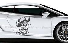 SKULL - WALL ART VINYL / DECAL Ref 2  CAR, VAN, BOAT, BIKE TABLET