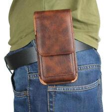 Universal Man Waist Bag Case With Clip Belt For BlackBerry Motion Aurora Priv Z3