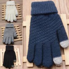 AS/ FR83377 1 paire unisexe Gants ecran tactile maille stretch coton polyester L