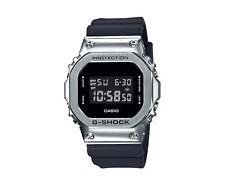 Casio G-Shock Digital Metal and Resin Silver/Black Men's Watch GM5600-1