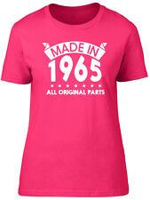 Made in 1965, All Original Parts Birthday Womens Ladies Short Sleeve T-Shirt