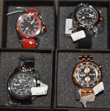 Men's Red Line Designer Watch S.S., Water Resist, Torque Sport or Chronograph