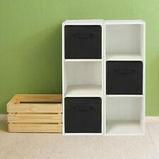 Storage Cube Fabric Clothes Foldable Folding Box Books Organizer Home Room 6Pcs