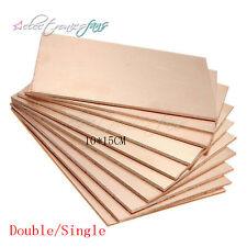 1/5/10PCS 10*15CM FR4 Double/Single PCB Copper Clad Laminate Board 10*15