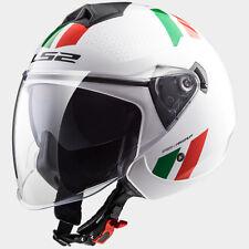 CASCO MOTO JET LS2 TWISTER OF573 ITALIA