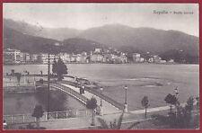 GENOVA RAPALLO 69 PONTE Cartolina viaggiata 1919