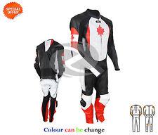 PATRIOT hommes femmes combinaison cuir moto pilote fait à la main avec ce armure