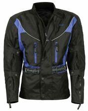 Bangla Motorrad Jacke Textil Motorradjacke Cordura Blau schwarz S M L bis 6 XL