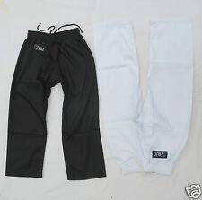 Pantalones - Liso Blanco o Negro - Adulto Infantil para - Taekwondo - Karate