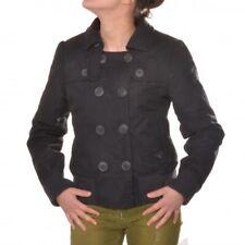 Roxy Winterjacke Jacke true black schwarz damenjacke Frauen Girls femmes Knöpfe