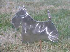 Scottish Terrier Dog yard stake garden art statue metal