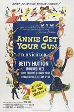 Annie get your gun Betty Hutton movie poster print
