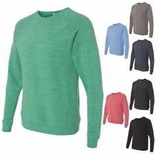 Independent Trading Co. Unisex Special Blend Raglan Crewneck Sweatshirt PRM30SBC