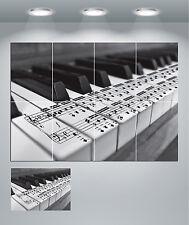Note Musicali Tasti di pianoforte GIGANTE Wall Art POSTER stampati