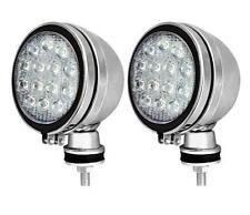 CLEAR SPOT LIGHT WITH LED CHROME CAR TRUCK SPOTLIGHT FOG LIGHT ULTRA BRIGHT