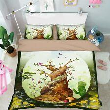 3D Fantasy Jungle 89 Bed Pillowcases Quilt Duvet Cover Set Single Queen King CA