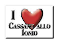 CALAMITA CALABRIA FRIDGE MAGNET MAGNETE SOUVENIR LOVE CASSANO ALLO IONIO (CS)--