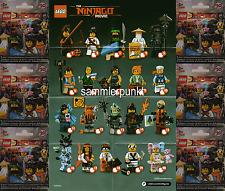 1 LEGO® MINIFIGUR -im DVB oder OVP- Ihrer Wahl a.Serie Ninjago Movie -LEGO#71019