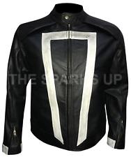 Ghost Rider Leather Jacket Agents Of Shield Season 4 Robbie Reyes - BIG SALE