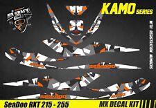 Kit Déco Jet Ski Sea-Doo RXT 215 / 255 - Kamo Orange