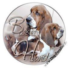 Aufkleber Motiv 1 Basset Hound Hund Hunde Dog Autoaufkleber Sticker