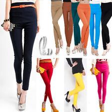 AU SELLER Stretch Leggings Slim pencil Dance Dress pants Multiple colour P085